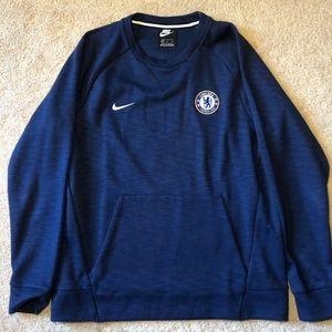 Nike men's crew sweatshirt FC Chelsea